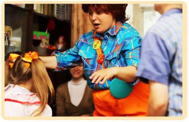 Детский аниматор на дом в Минске. Чудо для ребят.